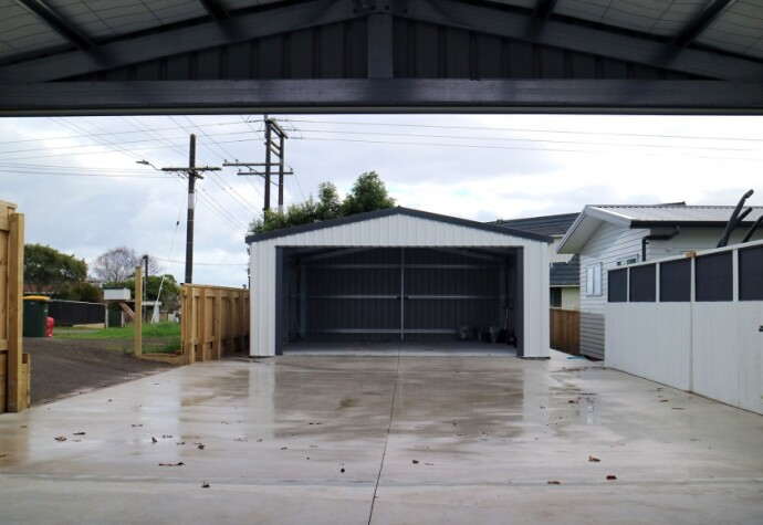 Double Garages and Drive